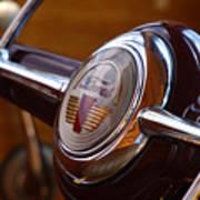 Steering Wheel Art Print