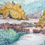 Stego Brook Art Print