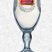 Stella Artois Chalice Painting Collectable Art Print