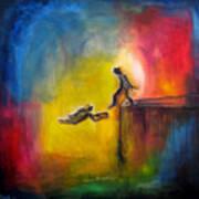 Step Of Faith Art Print
