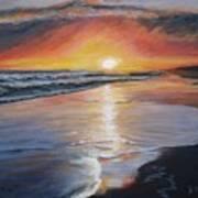 Stephanie's Sunset Art Print