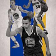 Stephen Curry Golden State Warriors Art Print