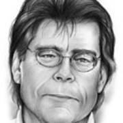 Stephen King Art Print