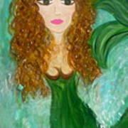 Stephie Splash Art Print