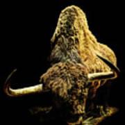 Steppe Bison Art Print