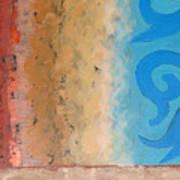 Steppe Oasis Art Print