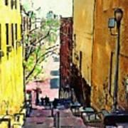 Steps At 187 Street Art Print