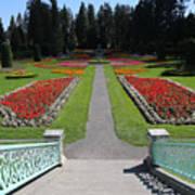 Steps To Duncan Garden Art Print