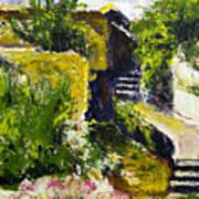 Steps To San Martin Art Print