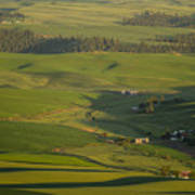 Steptoe Butte 3a Art Print