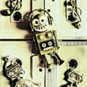 Stereo Robotics Art Art Print