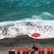 ...stessa Spiaggia... Stesso Mare...  ...the Same Beach... The Same Sea... Art Print