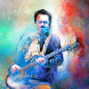 Steve Lukather 01 Art Print
