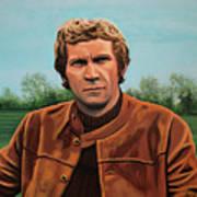 Steve Mcqueen Painting Art Print