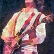 Steve Miller 1978 Art Print by Russ Harris