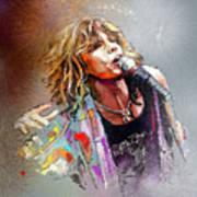 Steven Tyler 02  Aerosmith Art Print
