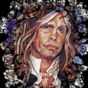 Steven Tyler Aerosmith Art Print