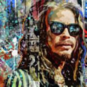 Steven Tyler Tribute Art Print
