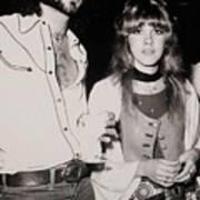 Stevie Nicks And Lindsey Buckingham Art Print