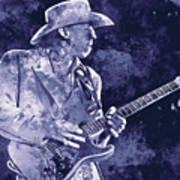 Stevie Ray Vaughan - 02 Art Print