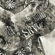 Stevie Ray Vaughan - 03 Art Print