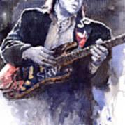 Stevie Ray Vaughan 1 Art Print