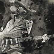 Stevie Ray Vaughan - 13  Art Print