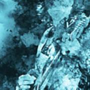 Stevie Ray Vaughan - 16 Art Print