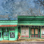 Stewards General Store And Post Office Art Print