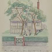 Stewart House Art Print