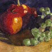Still Apples Art Print