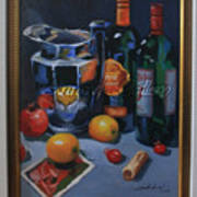 still life 2, Wine your style Art Print