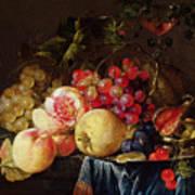 Still Life Print by Cornelis de Heem