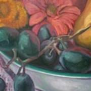 Still Life Grape Medley Art Print