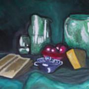 Still Life Green Art Print