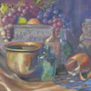 Still Life Honey Bear Art Print