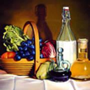 Still Life In Oil Art Print
