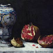 Still Life With A Pomegranate Art Print