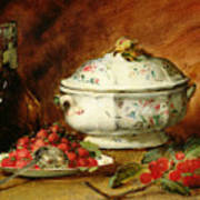 Still Life With A Soup Tureen Art Print