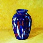 Still Life With Blue Vase Art Print