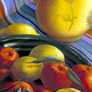 Still Life With Citrus Art Print