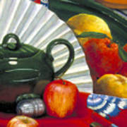 Still Life With Citrus Still Life Art Print