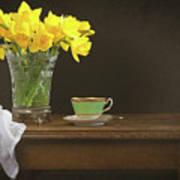 Still Life With Daffodils Art Print