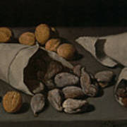 Still Life With Dried Fruit Art Print