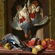 Still Life With Game Art Print