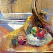 Still Life With Onions Art Print