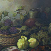 Still-life With Quinces Art Print by Tigran Ghulyan