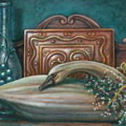 Still Life With Swan Art Print