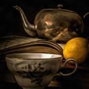 Still Life With Tea Cup Art Print