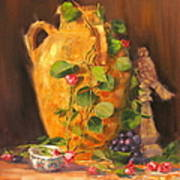 Still Life With Urn Art Print
